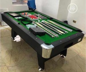 Foreign 8ft Snooker Board With Complete Accessories | Sports Equipment for sale in Lagos State, Surulere