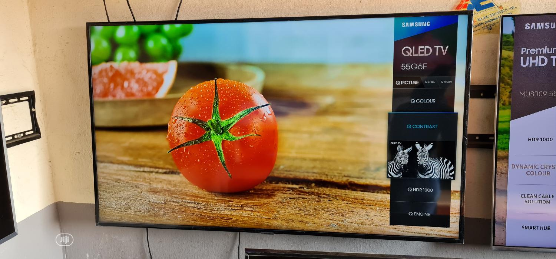 55 Inches Samsung Smart Qled UHD 4k HDR Q6F Flat Led Tv