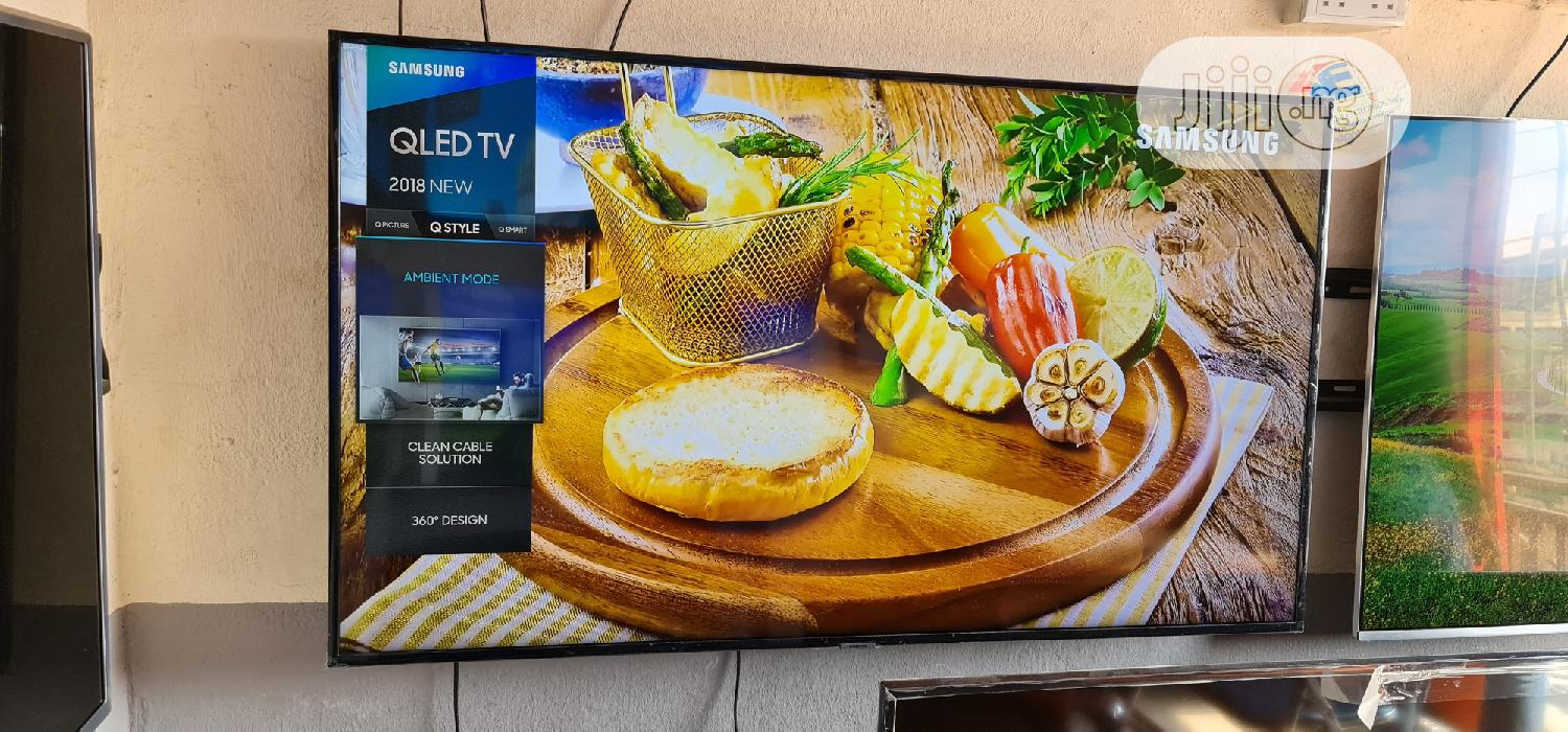 55 Inches Samsung Smart Qled UHD 4k HDR Q6F Flat Led Tv | TV & DVD Equipment for sale in Ojo, Lagos State, Nigeria