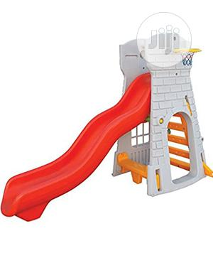 Castle Slide With Basket Ball | Toys for sale in Rivers State, Port-Harcourt