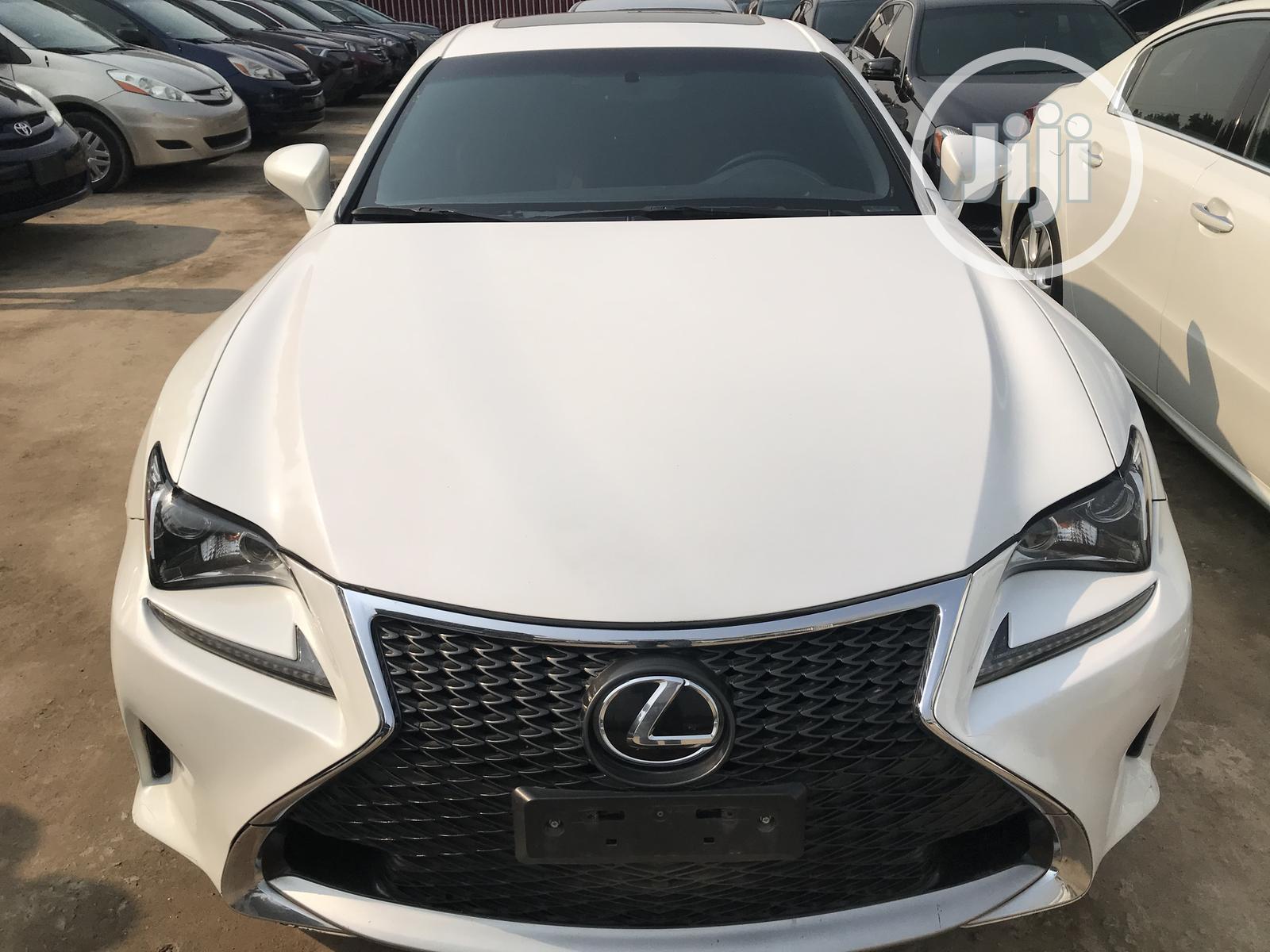Lexus RC 2016 White