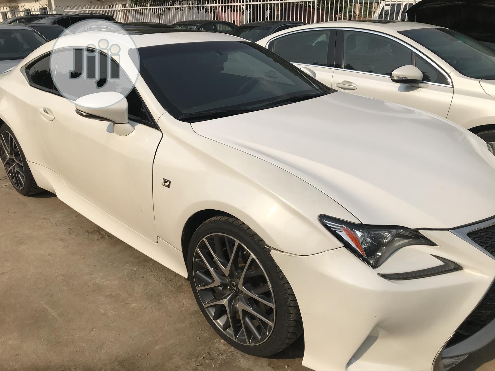 Lexus RC 2016 White | Cars for sale in Garki 2, Abuja (FCT) State, Nigeria