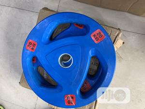 20kg Olympic Barbell Plate | Sports Equipment for sale in Lagos State, Surulere