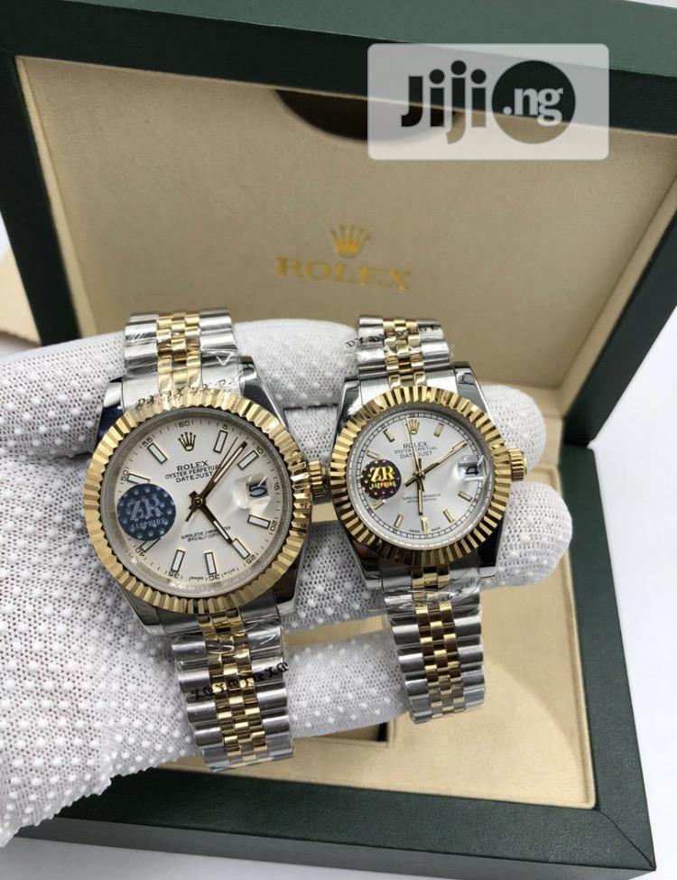 Archive: Date/Day Rolex Wristwatch