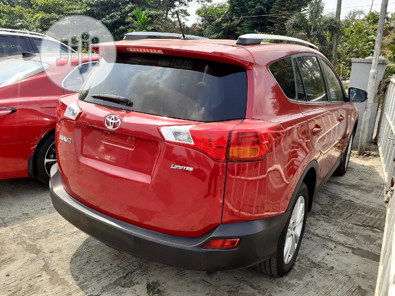 Toyota RAV4 2013 Red | Cars for sale in Ikeja, Lagos State, Nigeria