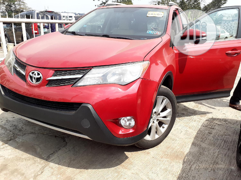Toyota RAV4 2013 Red