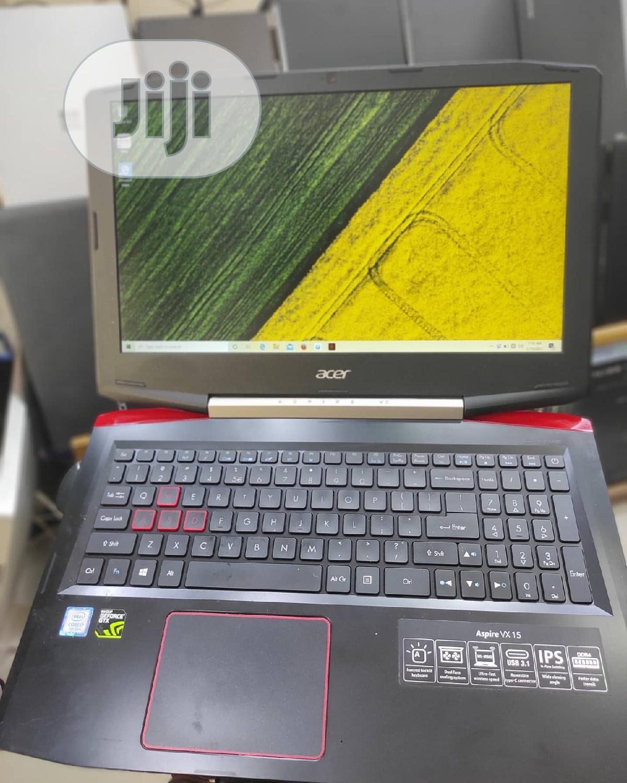 Archive: Laptop Acer Aspire VX 15 16GB Intel Core I7 SSD 256GB