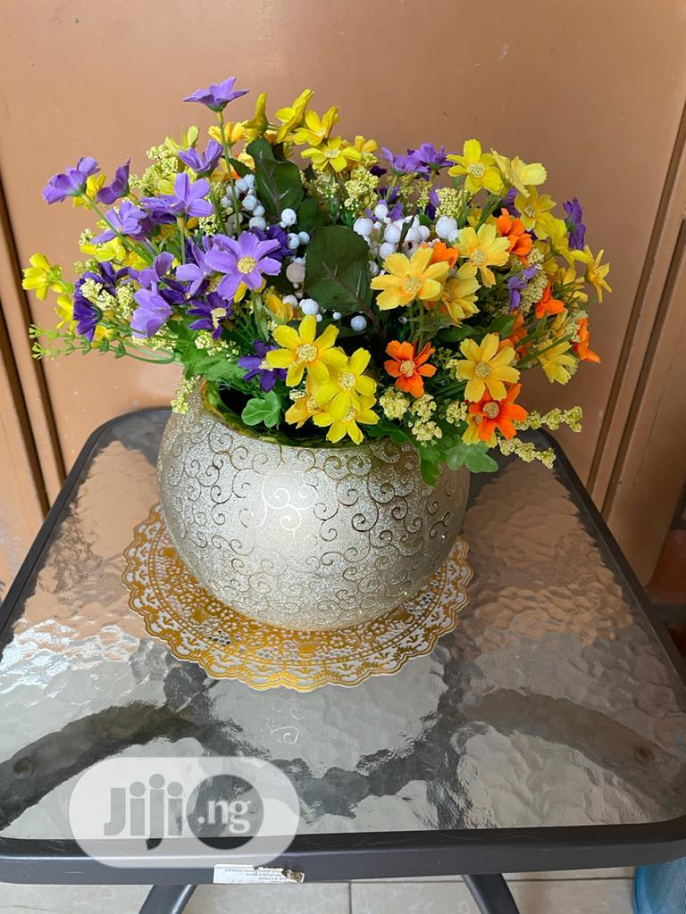 Beautiful Flower Vase With Flowers