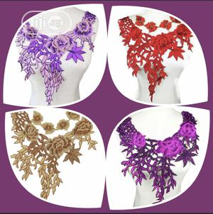 Sewing Neck Embroidery Applique   Arts & Crafts for sale in Rivers State, Port-Harcourt