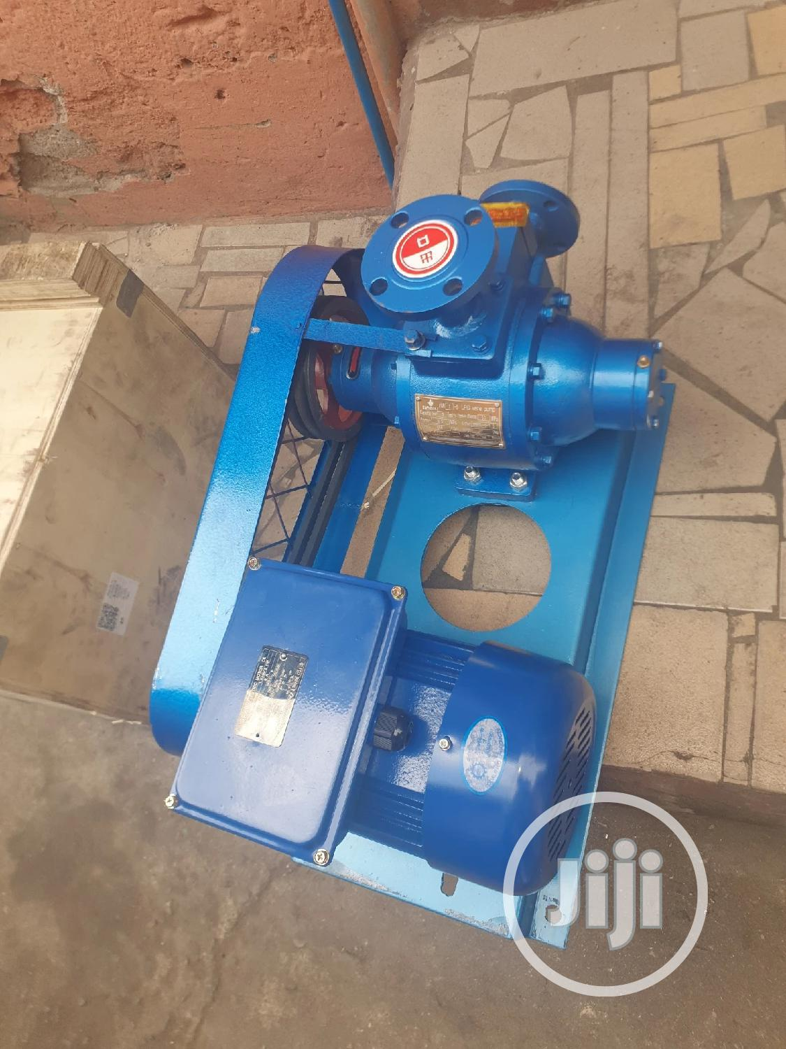 Quality Lpg Vane Pump 1inches,2hp With Ex Electric Motor