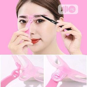 4pcs Eyebrow Stencil Ruler For Eyebrows Shaper | Tools & Accessories for sale in Lagos State, Surulere