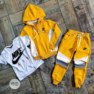 Turkey Kids Quality Nike Top With Trousers | Children's Clothing for sale in Lagos State, Isolo