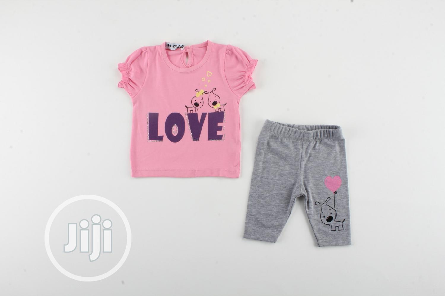 Quality Children's Tommy Tops With Trousers | Children's Clothing for sale in Isolo, Lagos State, Nigeria