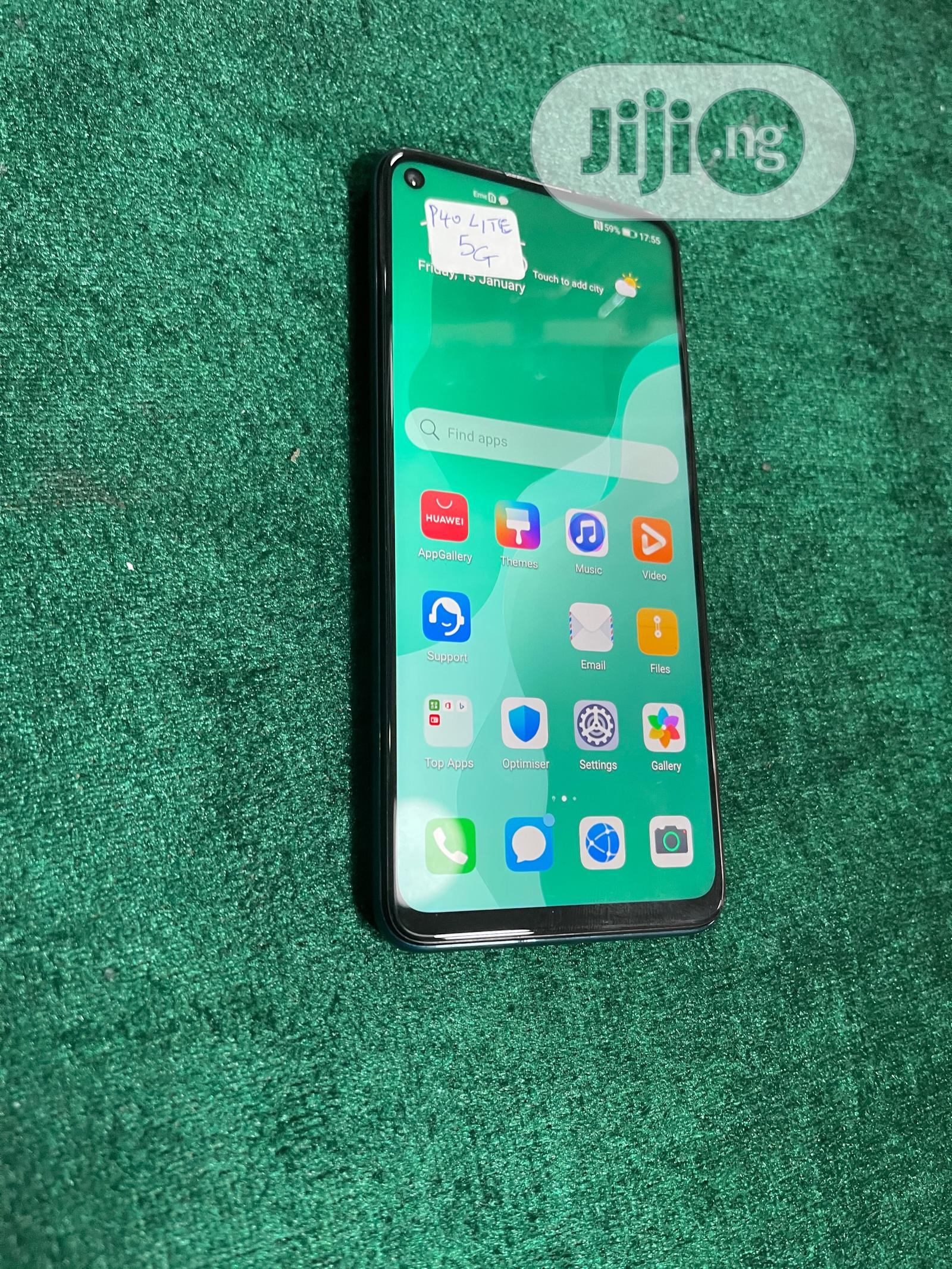Huawei P40 Lite 5G 128GB Green   Mobile Phones for sale in Ikeja, Lagos State, Nigeria