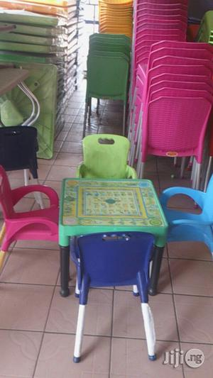 Adorable Kids Alphabets Plastic Chairs And Tables | Children's Furniture for sale in Lagos State