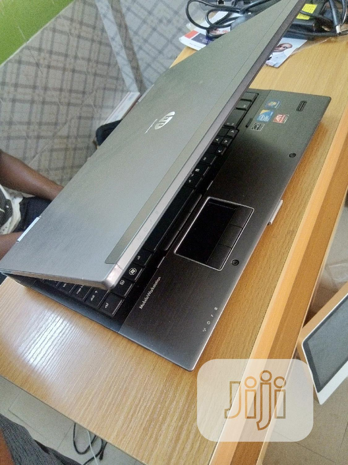 Laptop HP Compaq 8540w 8GB Intel Core I7 HDD 500GB | Laptops & Computers for sale in Central Business Dis, Abuja (FCT) State, Nigeria