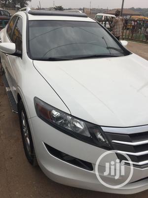 Honda Accord CrossTour 2010 EX-L AWD White   Cars for sale in Ogun State, Ado-Odo/Ota