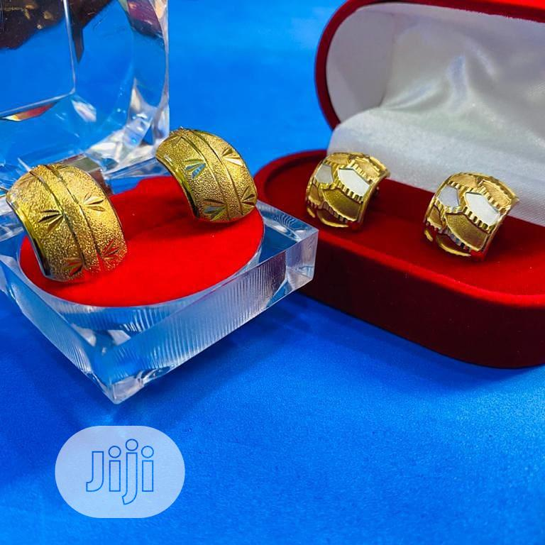 18karat Golden Clips And Pins Earring | Jewelry for sale in Yaba, Lagos State, Nigeria