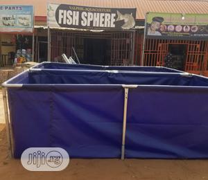 Transferable Tarpaulin Fish Pond. | Farm Machinery & Equipment for sale in Imo State, Owerri