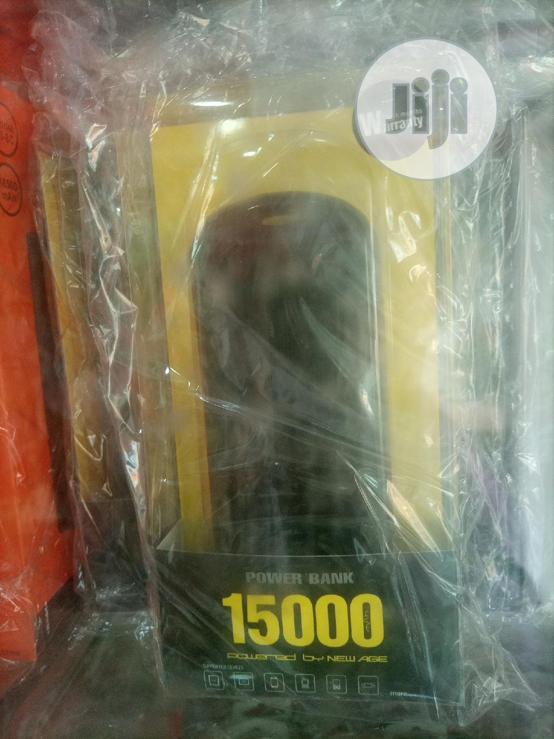 15000mah New Age Power Bank   Accessories for Mobile Phones & Tablets for sale in Ikorodu, Lagos State, Nigeria