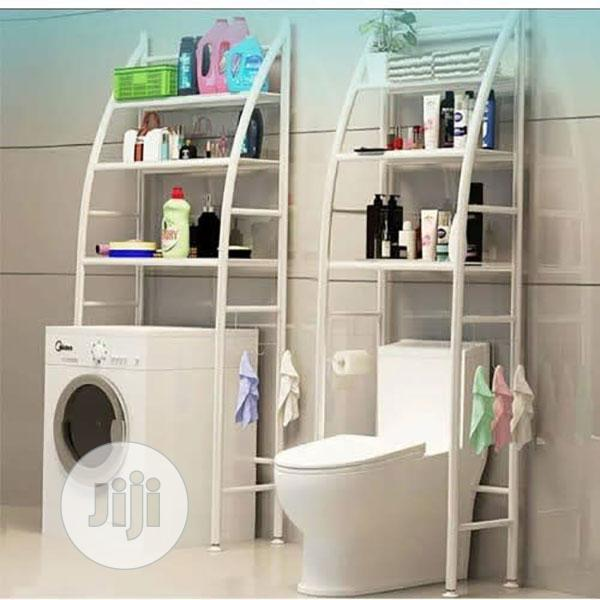Bathroom And Toilet Rack