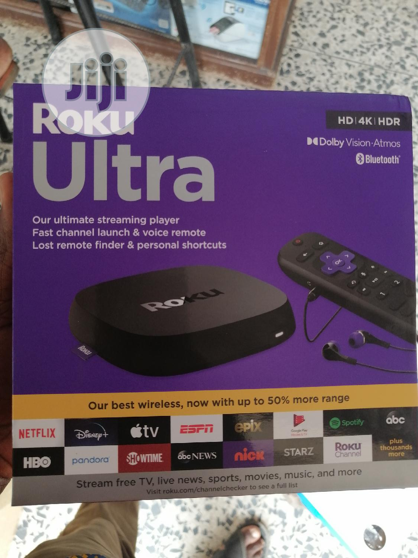 Roku Ultra 4k   TV & DVD Equipment for sale in Ikeja, Lagos State, Nigeria