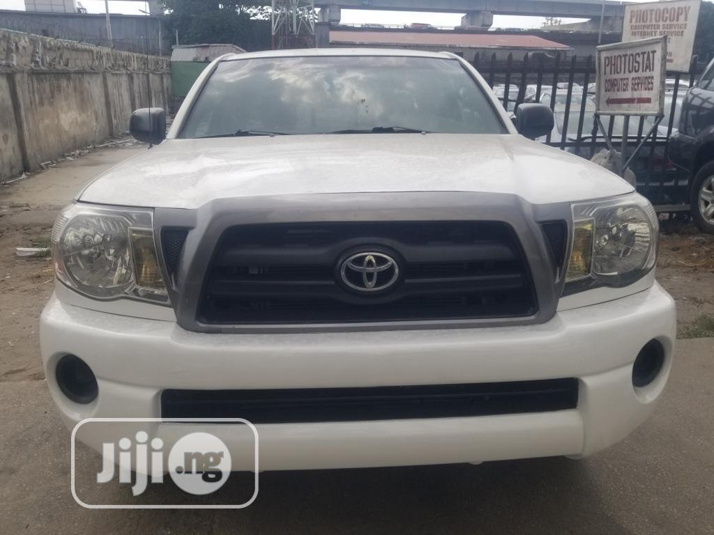Toyota Tacoma 2008 White | Cars for sale in Lagos Island (Eko), Lagos State, Nigeria