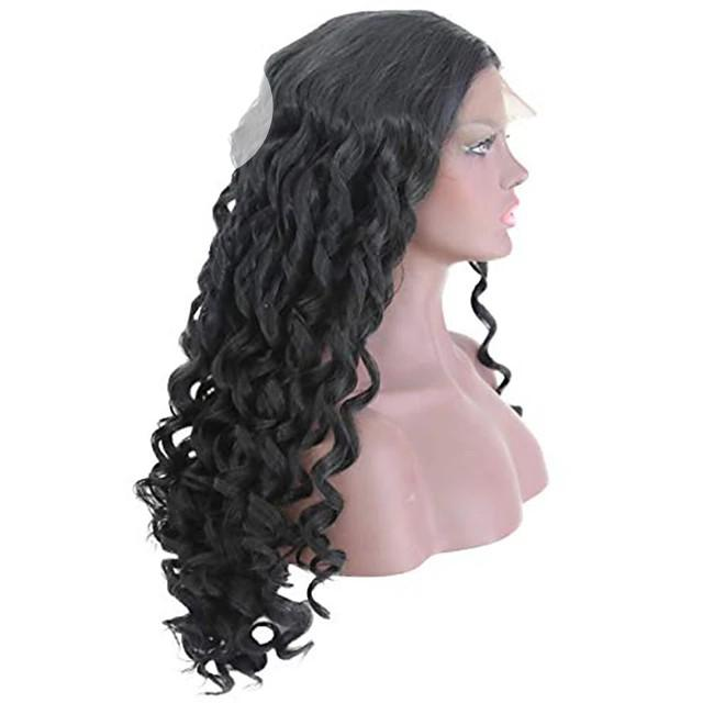 Archive: 100% Human Hair Wavy Lace Frontal Wig