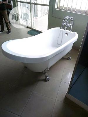 Silver Stand Acrylic Bathtub | Plumbing & Water Supply for sale in Lagos State, Orile