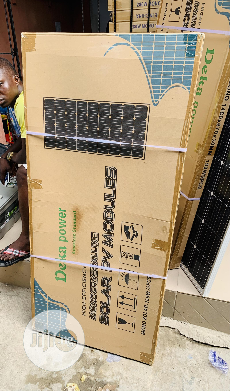 150watts Mono Solar Panel