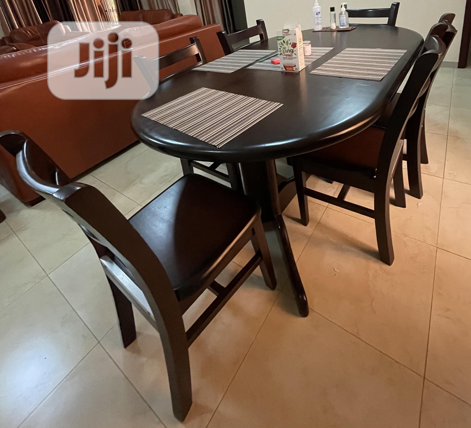 Dining Tables Six Chairs In Ibadan Furniture Naomass Nature Jiji Ng