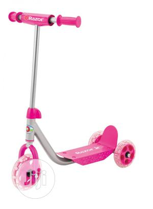 This Razor Jr. Three-Wheel Lil' Kick Scooter Pink   Toys for sale in Lagos State, Ajah