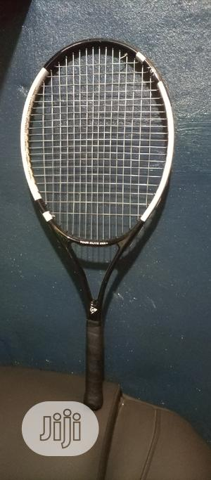 Dunlop Long Tennis Racket and Balls   Sports Equipment for sale in Rivers State, Port-Harcourt