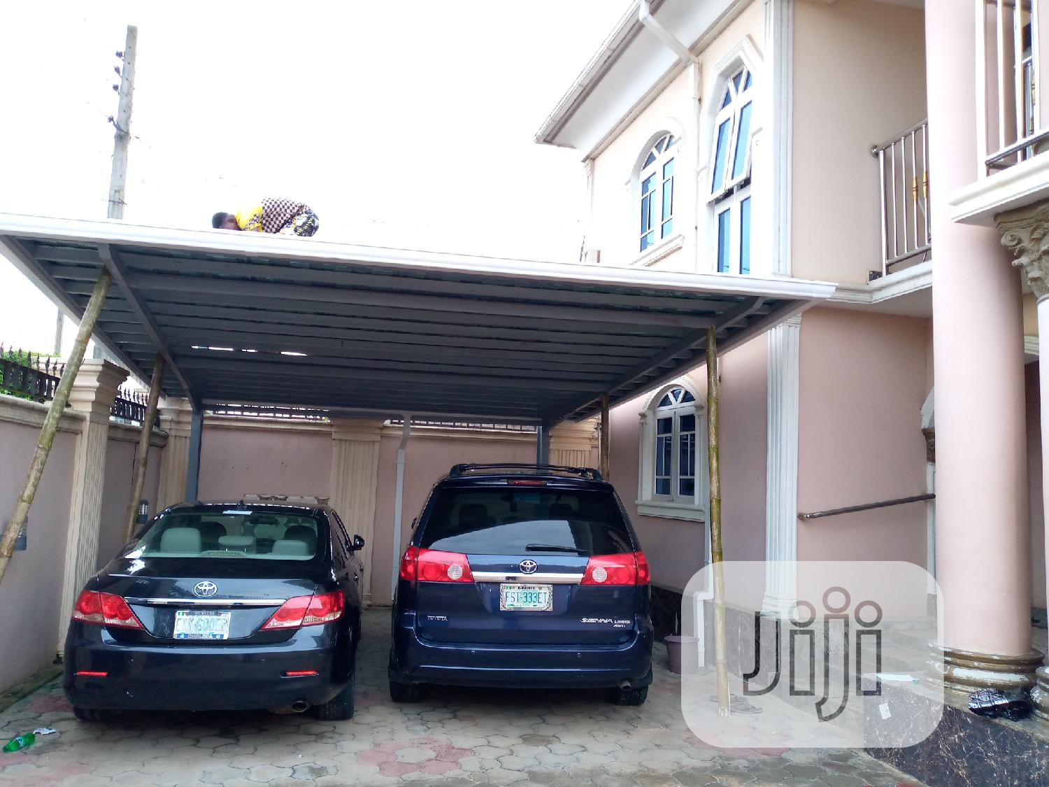 Carport Constructed With HB
