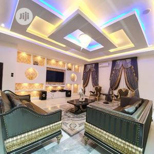 Tv Wall Design An Pop Wall Divider Interior Design | Building & Trades Services for sale in Lagos State, Lekki