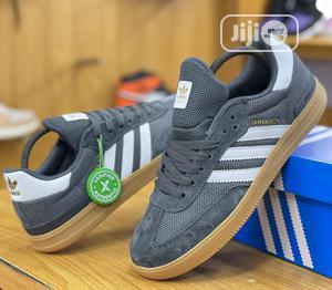 Adidas Samba Sneakers Grey/Gum Sole | Shoes for sale in Lagos State, Lagos Island (Eko)