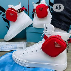 Prada Sneaker Available as Seen Swipe to Pick Your Preferre   Shoes for sale in Lagos State, Lagos Island (Eko)