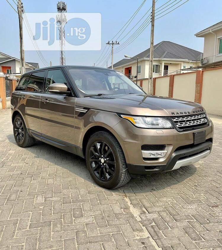 Land Rover Range Rover Sport 2016 HSE 4x4 (3.0L 6cyl 8A) Gold