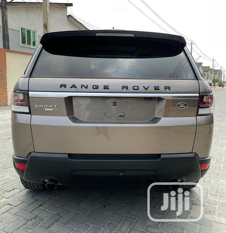 Land Rover Range Rover Sport 2016 HSE 4x4 (3.0L 6cyl 8A) Gold | Cars for sale in Lekki, Lagos State, Nigeria