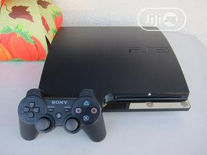 Playstation 3 Slim Console+ 9 Downloaded Games Fifa PES 21 | Video Game Consoles for sale in Lagos State, Oshodi