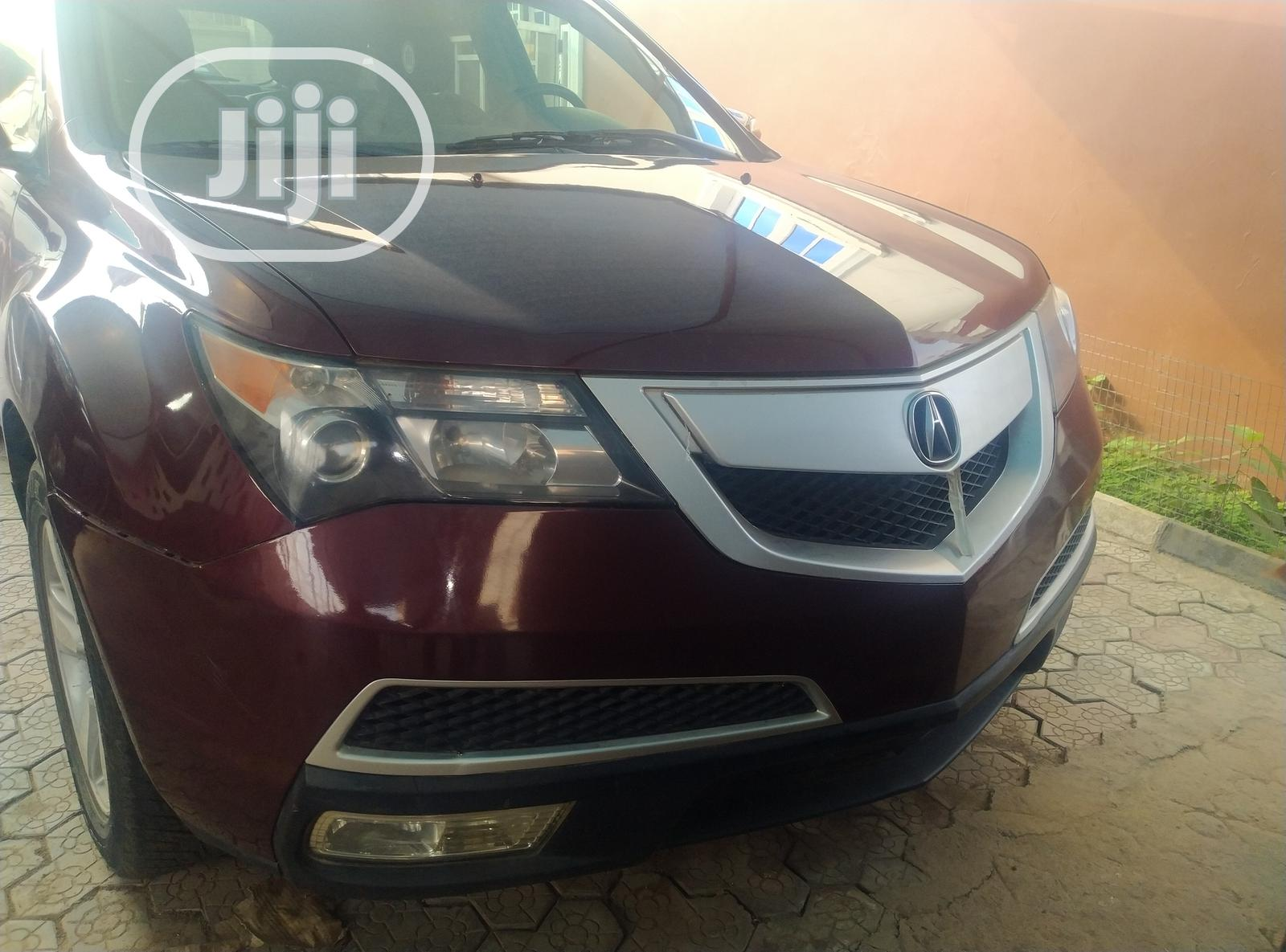 Archive: Acura MDX 2013 Red
