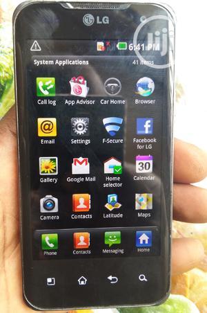 LG Optimus 2X 8 GB Black | Mobile Phones for sale in Lagos State, Ikeja
