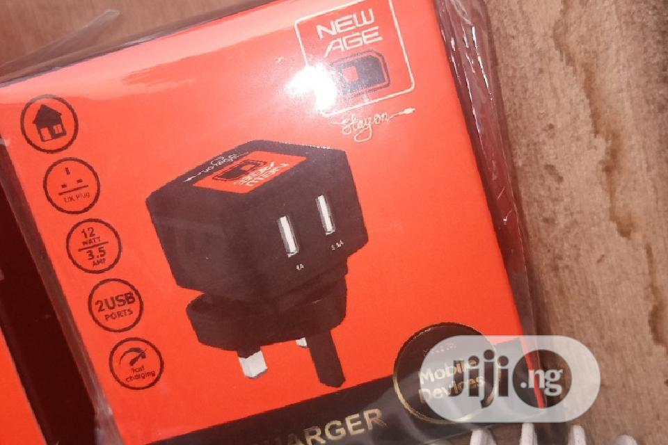 Original 2 Usb Output +Follow Come Cable   Accessories for Mobile Phones & Tablets for sale in Ikorodu, Lagos State, Nigeria