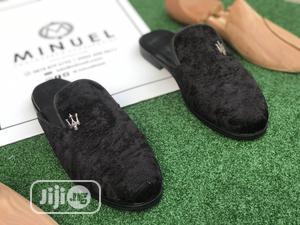 Black Velvet Half Shoe   Shoes for sale in Lagos State, Mushin
