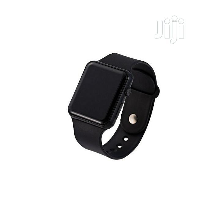 Archive: Silicone LED Digital Wristwatch - Unisex