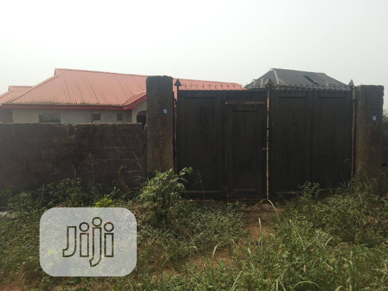 Half Plot of Land Fenced Gate at Itele