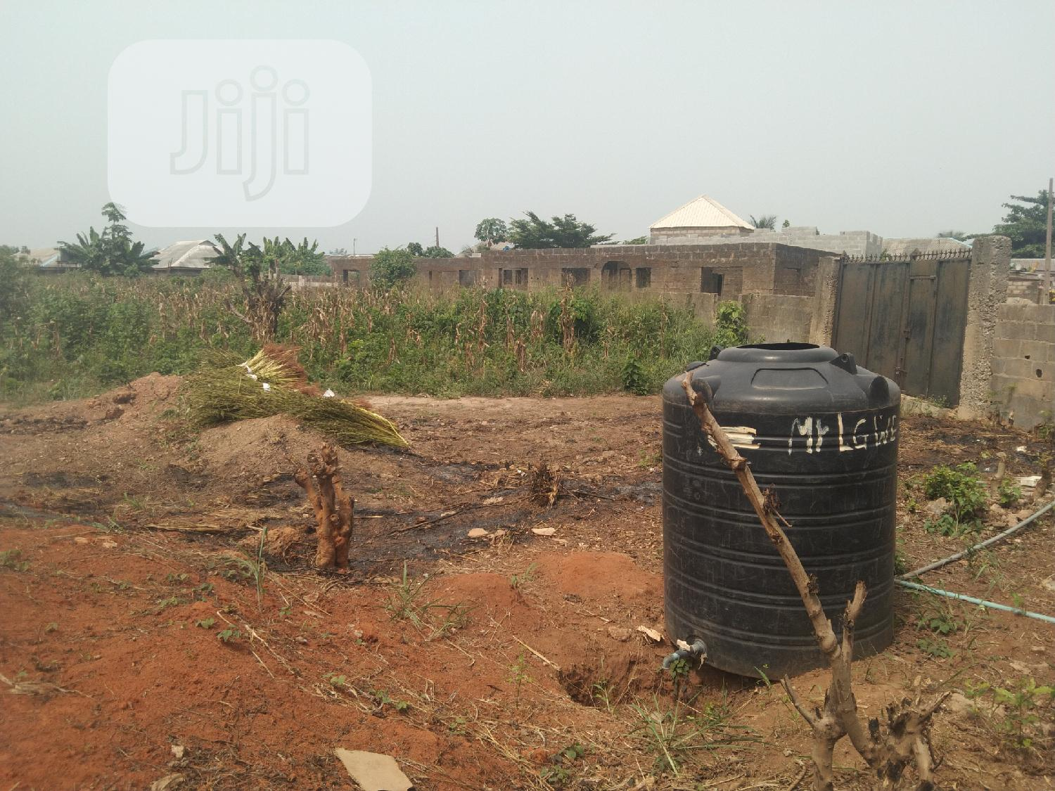 Half Plot of Land Fenced Gate at Itele   Land & Plots For Sale for sale in Ayobo, Ipaja, Nigeria