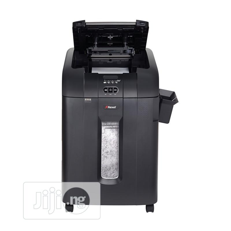 Rexel Auto+ 600x Paper And Documents Shredder Cross Cut | Stationery for sale in Ikeja, Lagos State, Nigeria