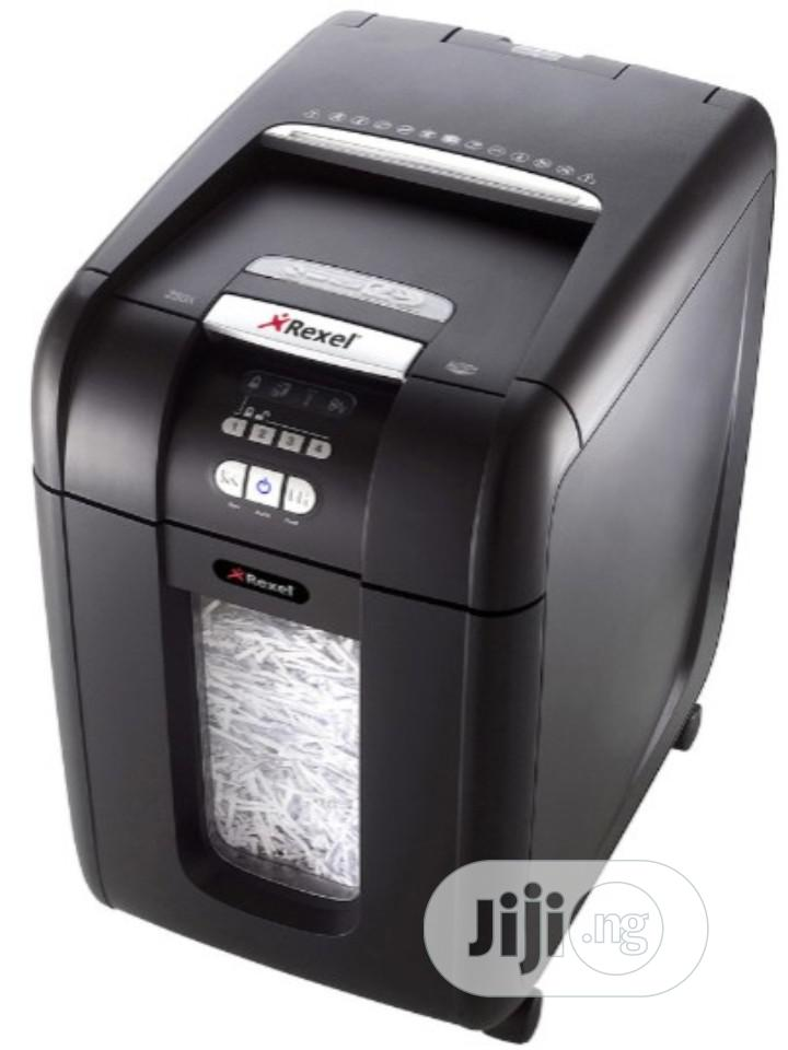 Rexel Auto+ 300x Paper And Documents Shredder Cross Cut | Stationery for sale in Ikeja, Lagos State, Nigeria