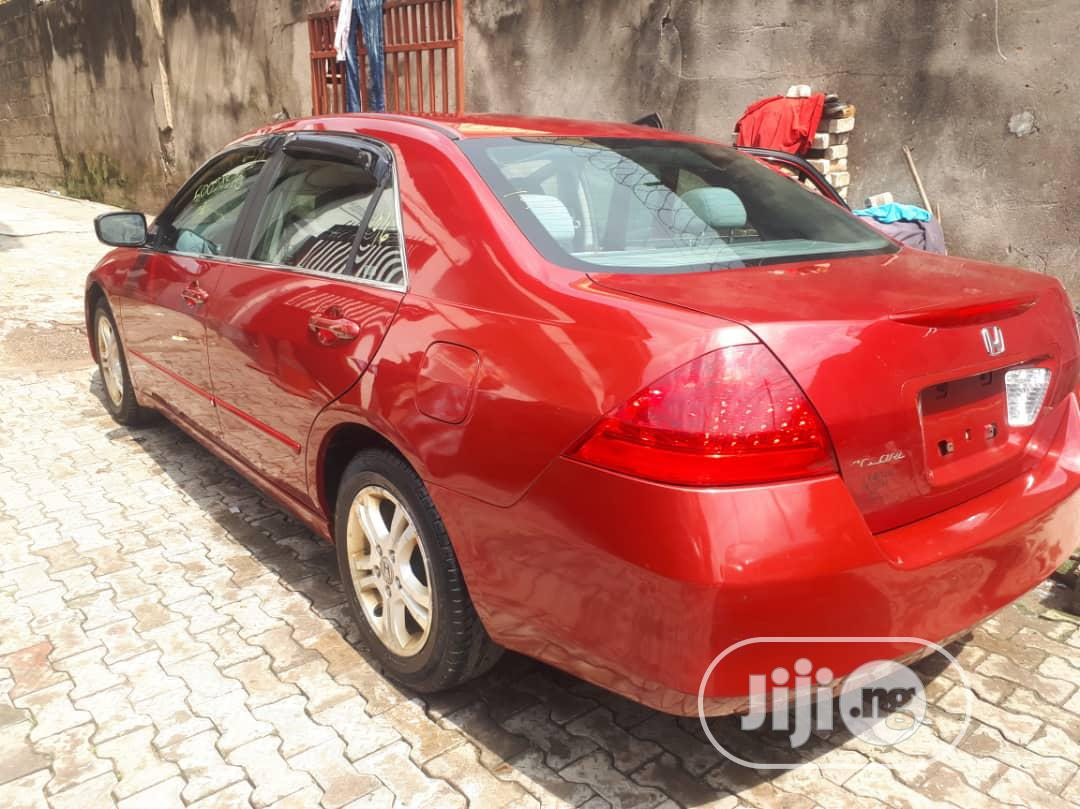 Archive: Honda Accord 2007 Red